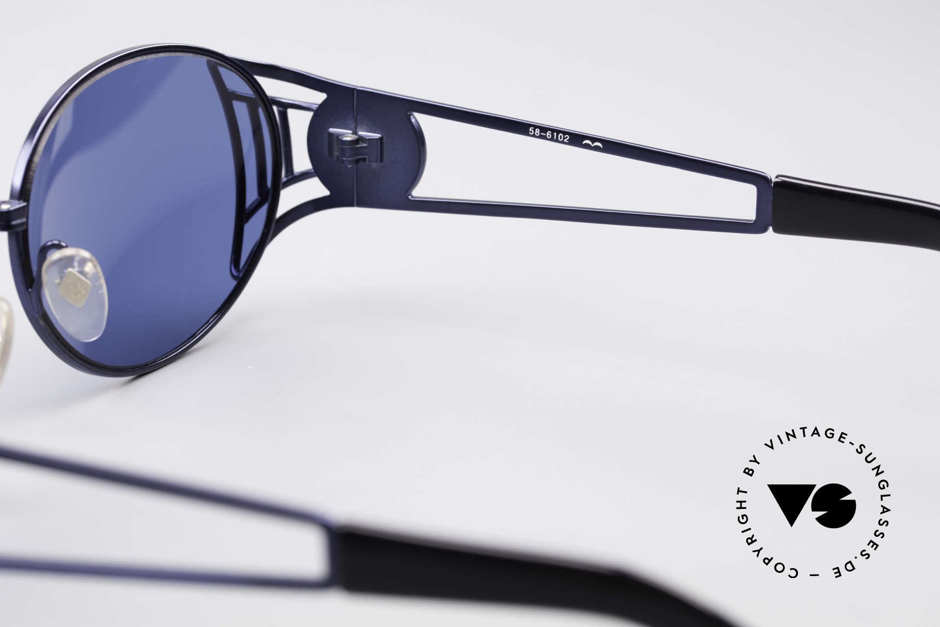 Jean Paul Gaultier 58-6102 Vintage Steampunk Shades, true GAULTIER rarity; a precious collector's item, Made for Men and Women