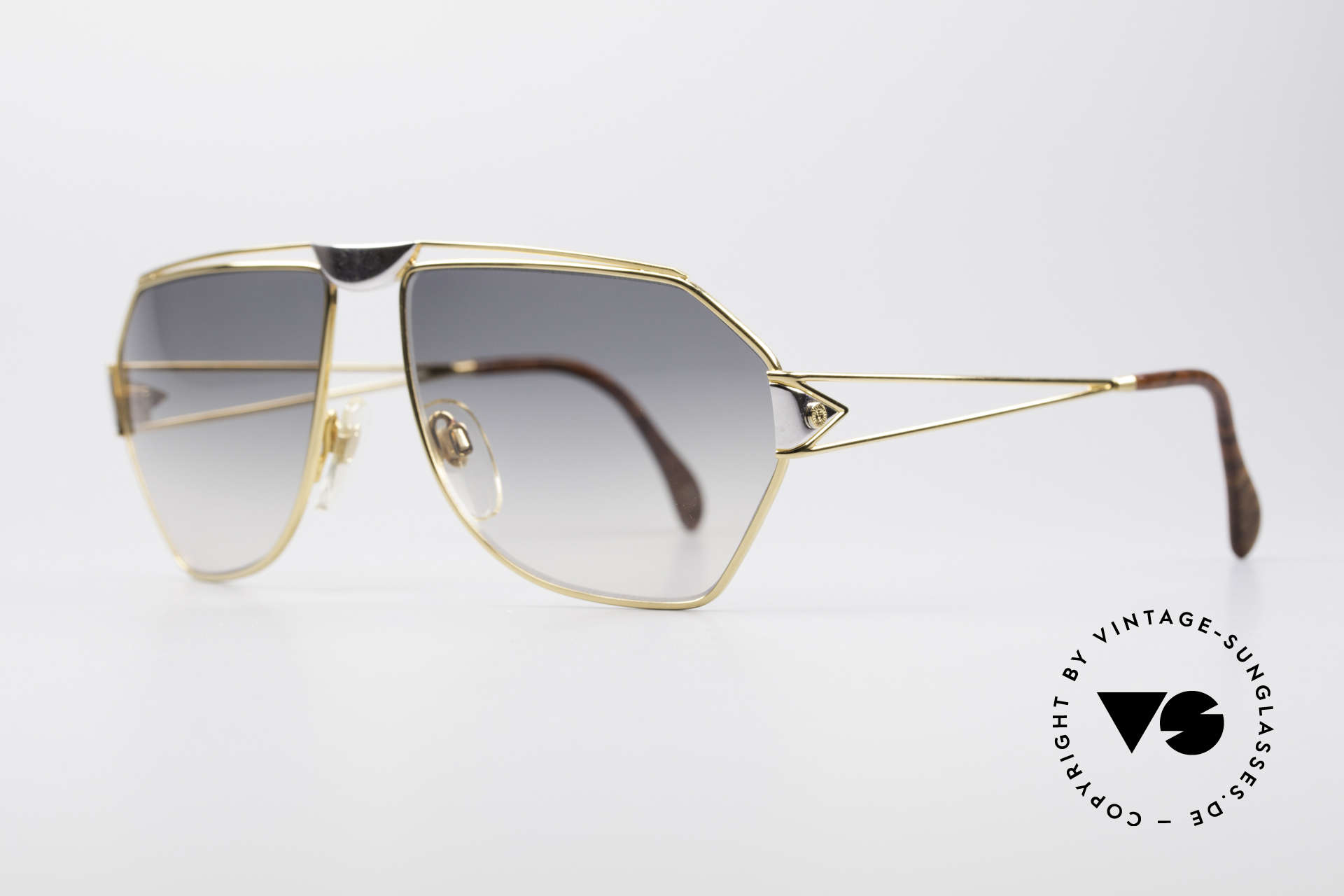 St. Moritz 403 80's Jupiter Sunglasses, 80's limited-lot production (every frame is numbered), Made for Men