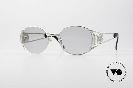 Jean Paul Gaultier 58-6102 Vintage Steampunk Frame Details