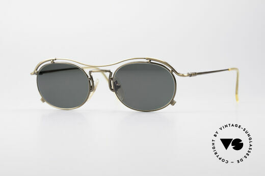 Jean Paul Gaultier 55-2170 No Retro 90's Sunglasses Details