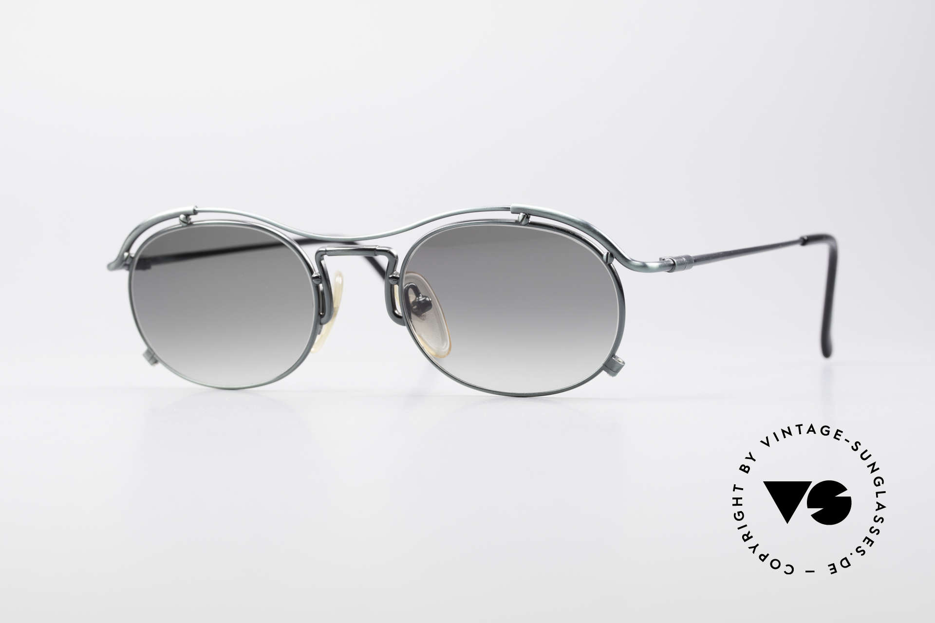 Jean Paul Gaultier 55-2170 Vintage 90's Sunglasses, true vintage Jean Paul GAULTIER designer shades, Made for Men and Women