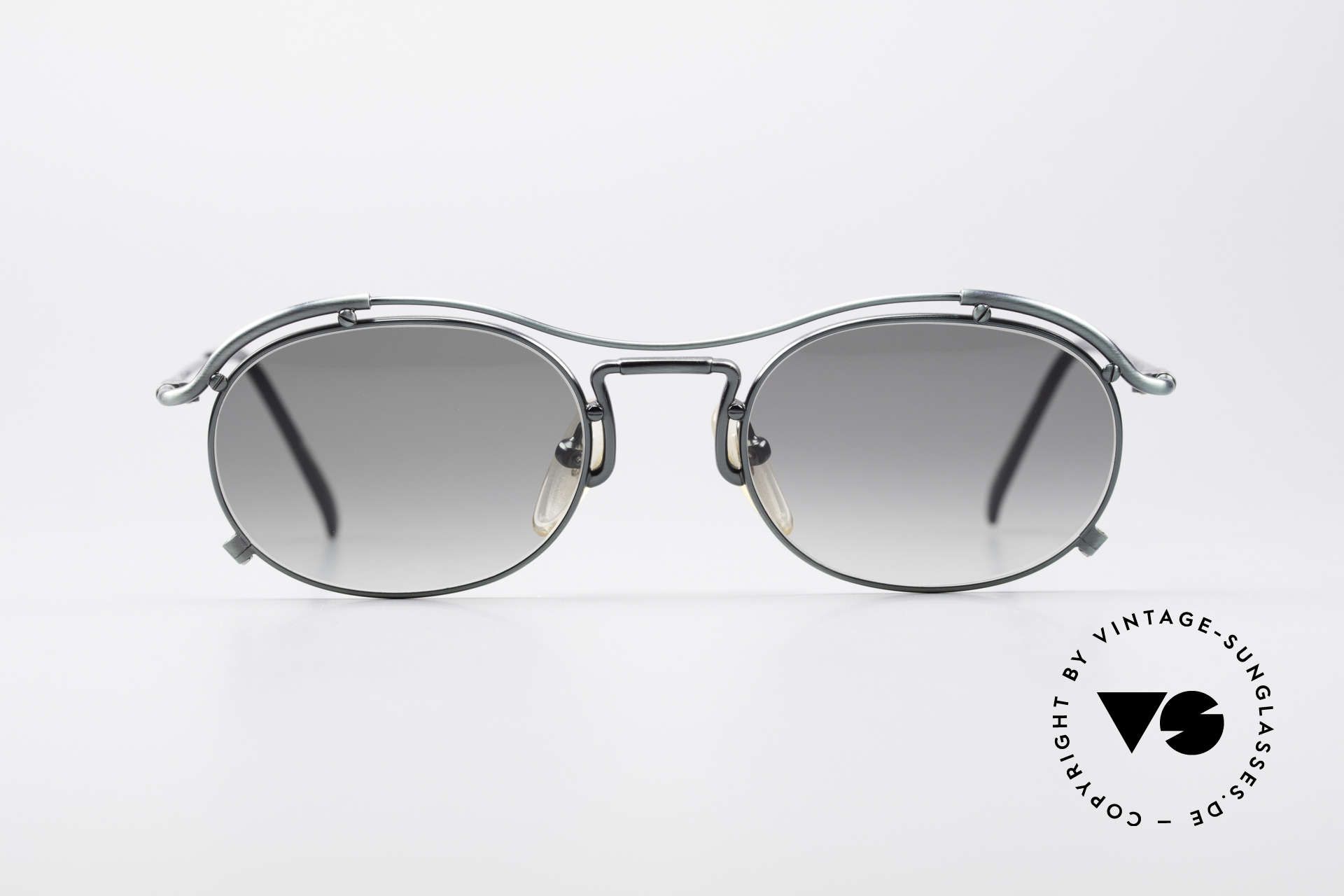Jean Paul Gaultier 55-2170 Vintage 90's Sunglasses, peppy frame construction; full of verve, RARITY!, Made for Men and Women