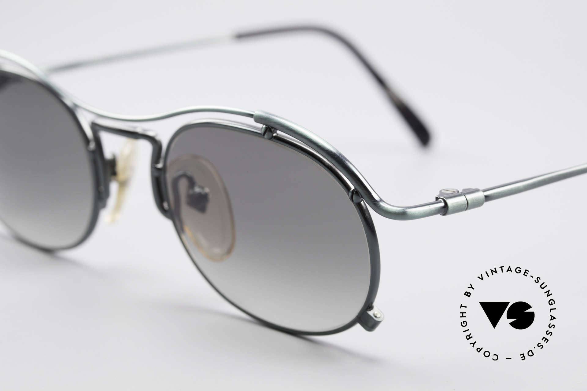 Jean Paul Gaultier 55-2170 Vintage 90's Sunglasses, enormous quality made in Japan; U must feel this!, Made for Men and Women