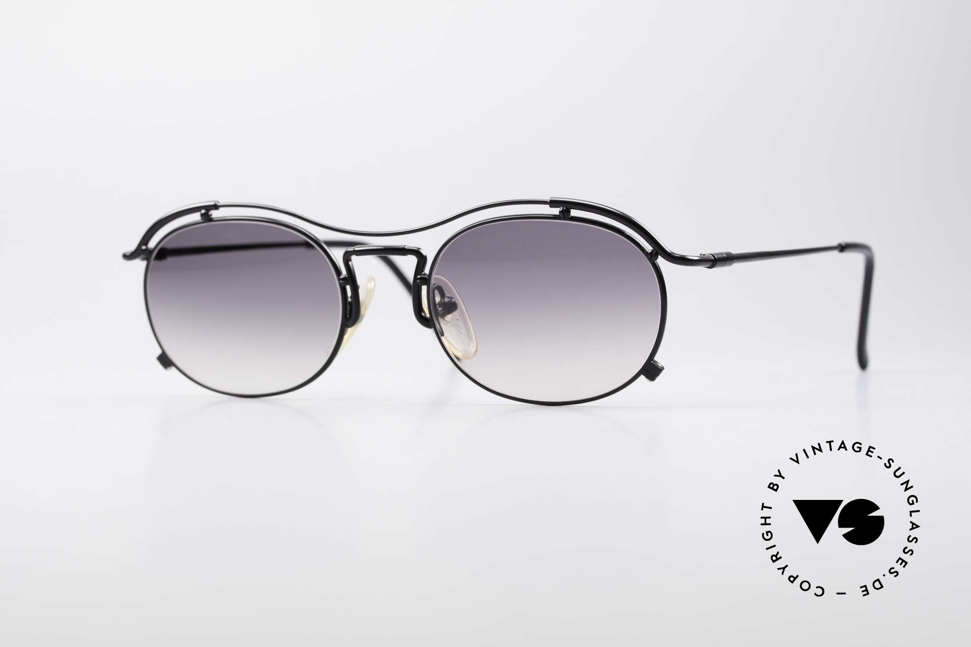 Jean Paul Gaultier 55-2170 Vintage JPG Sunglasses, true vintage Jean Paul GAULTIER designer shades, Made for Men and Women