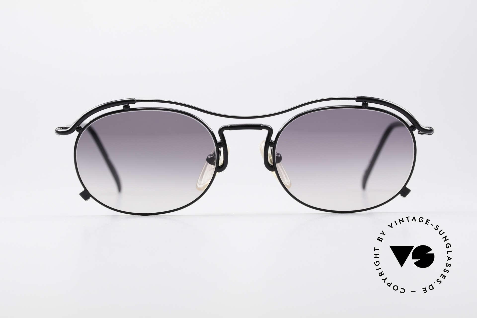 Jean Paul Gaultier 55-2170 Vintage JPG Sunglasses, peppy frame construction; full of verve, RARITY!, Made for Men and Women