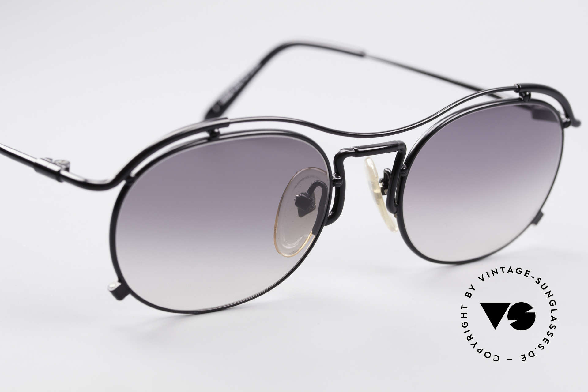 Jean Paul Gaultier 55-2170 Vintage JPG Sunglasses, unworn (like all our old 90's designer sunglasses), Made for Men and Women