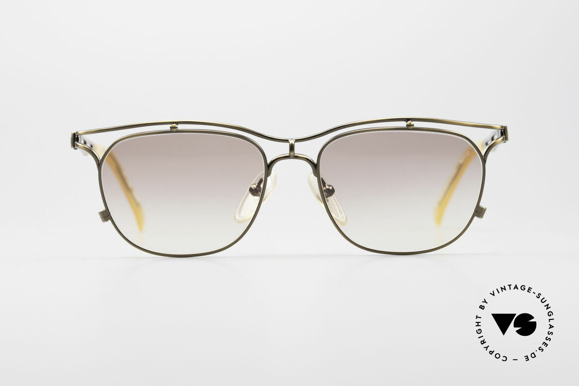 Jean Paul Gaultier 55-2178 90's Vintage JPG Sunglasses, tangible TOP-notch-quality (frame made in Japan), Made for Men and Women
