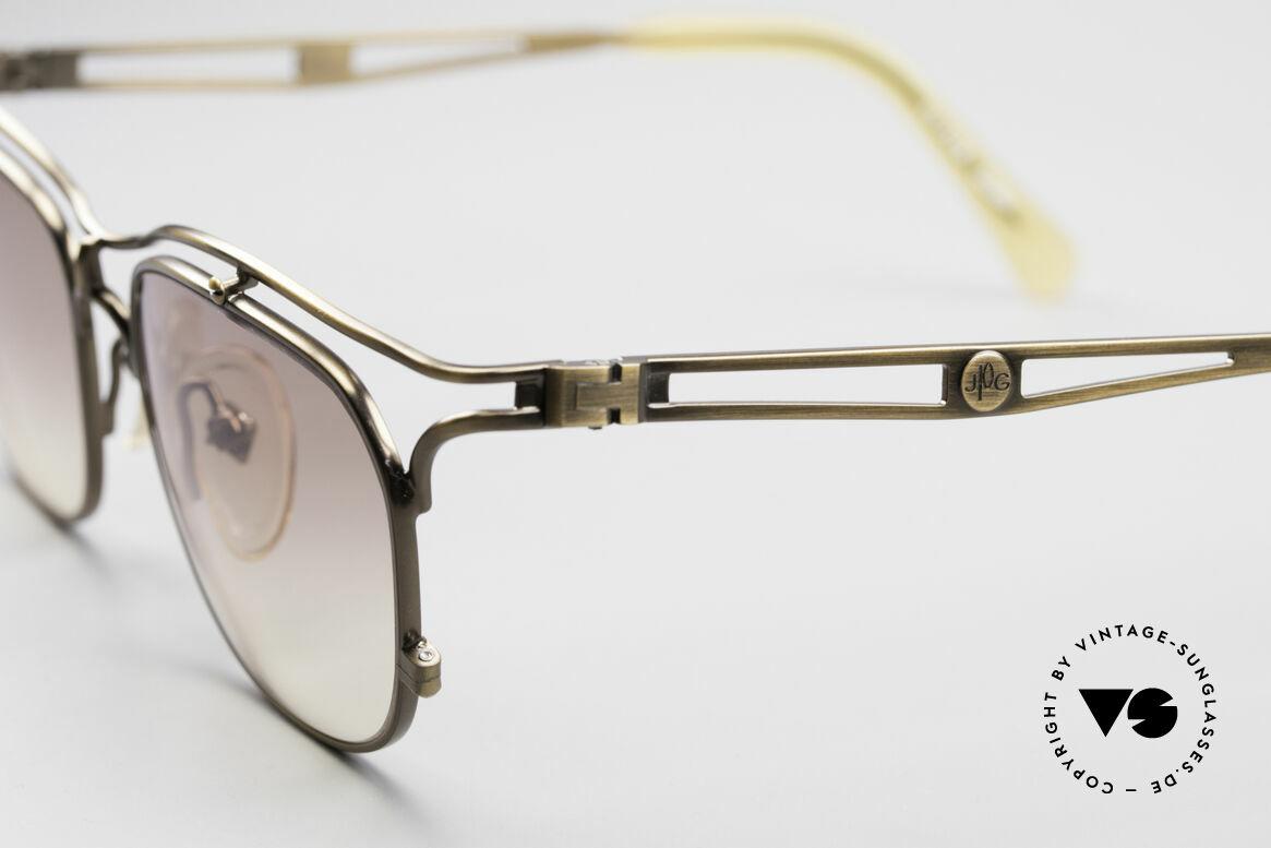 Jean Paul Gaultier 55-2178 90's Vintage JPG Sunglasses, unworn, NOS (like all our vintage designer glasses), Made for Men and Women