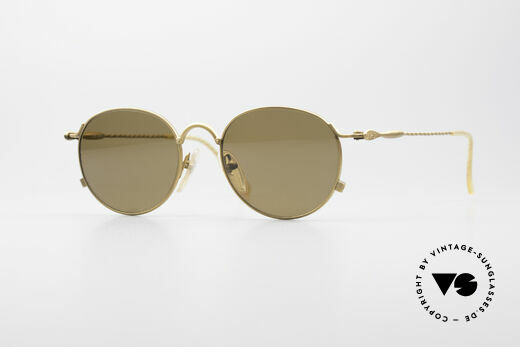 Jean Paul Gaultier 55-2172 Polarized Round Shades Details