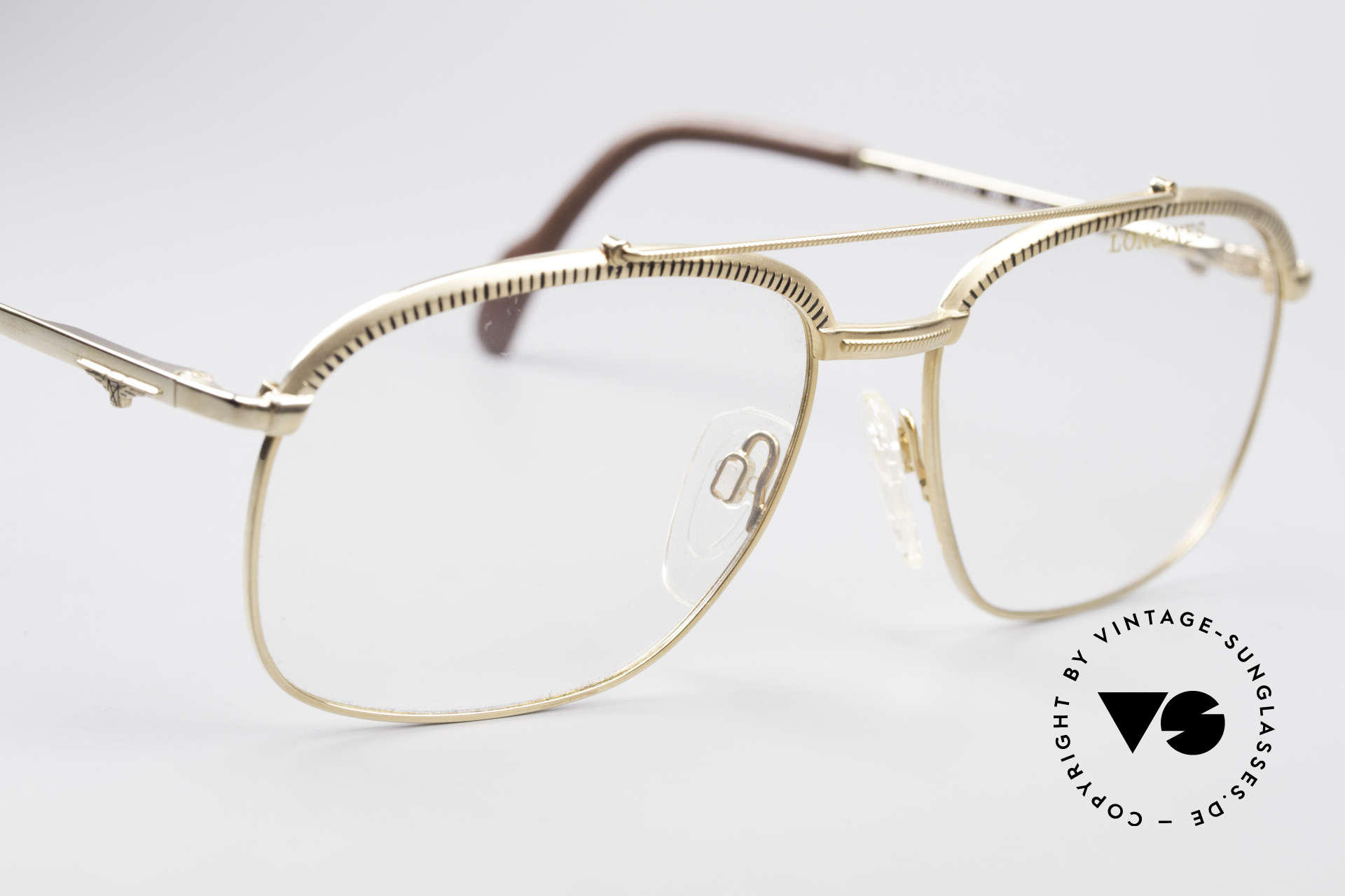 Longines 0172 80's Luxury Eyeglasses, unworn, one of a kind (like all our rare vintage frames), Made for Men