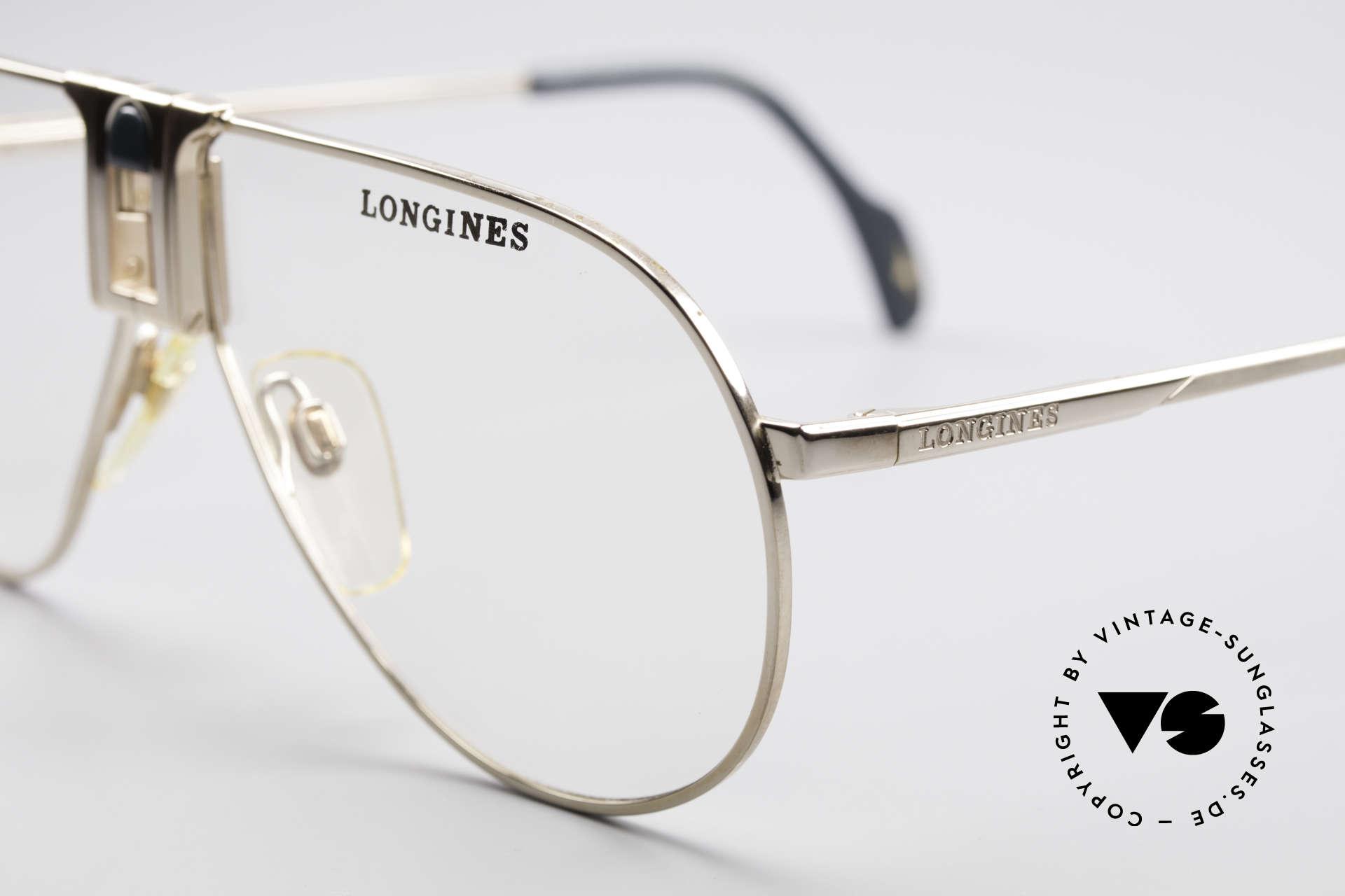 Longines 0154 1980's Aviator Eyeglasses, luxury designer glasses for gentlemen; pure lifestyle!, Made for Men