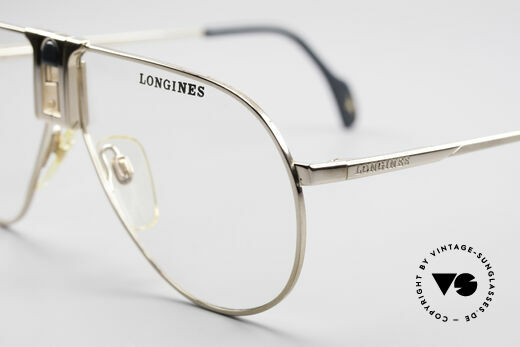 Longines 0154 1980's Aviator Eyeglasses