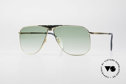 Longines 0155 80's Designer Sunglasses Details