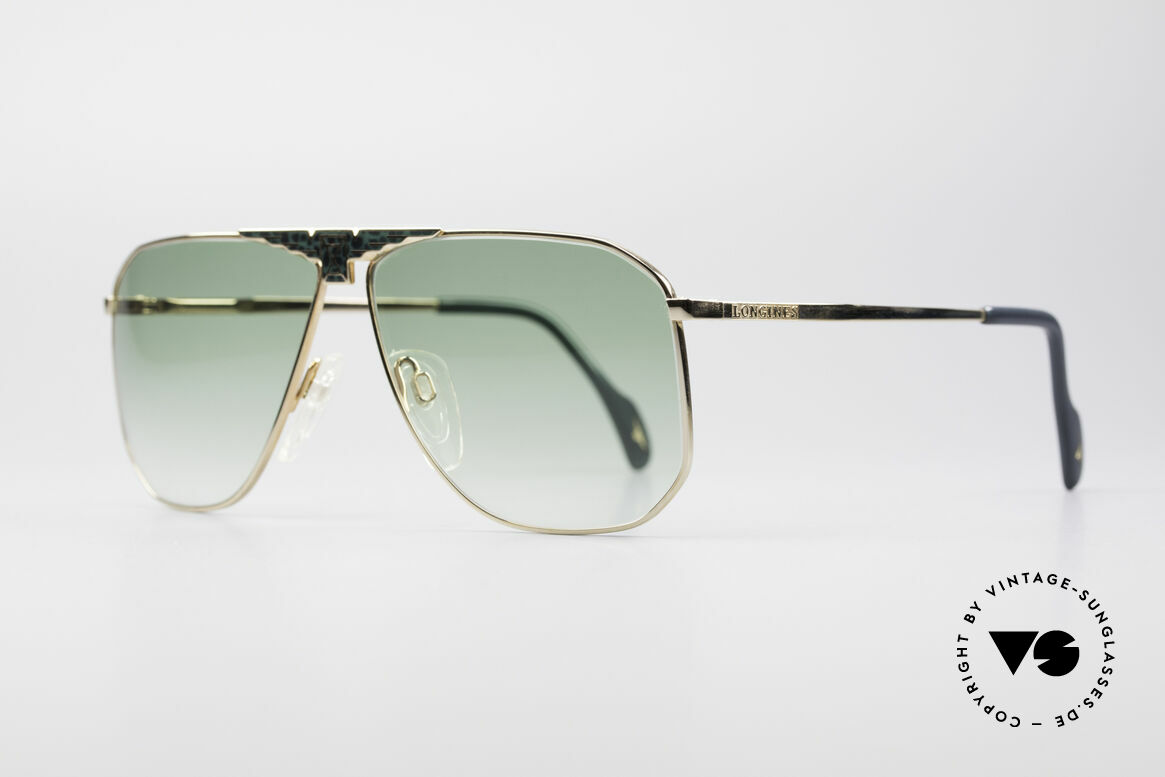 Longines 0155 80's Designer Sunglasses, made in cooperation with Metzler (made in Germany), Made for Men