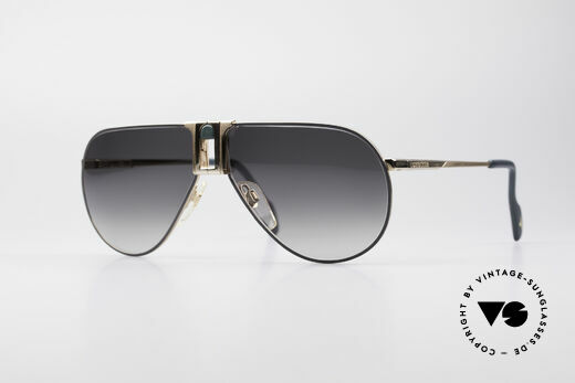 Longines 0154 1980's Aviator Sunglasses Details