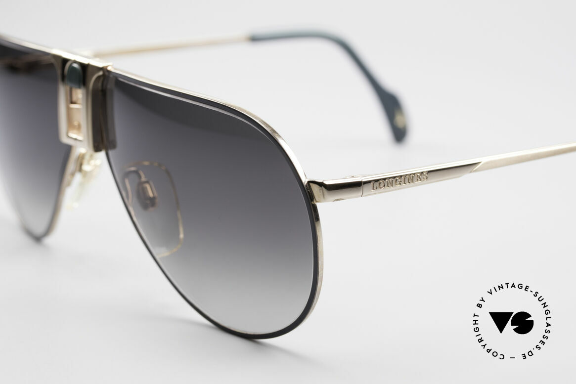 Longines 0154 1980's Aviator Sunglasses, luxury designer shades for gentlemen; pure lifestyle!, Made for Men