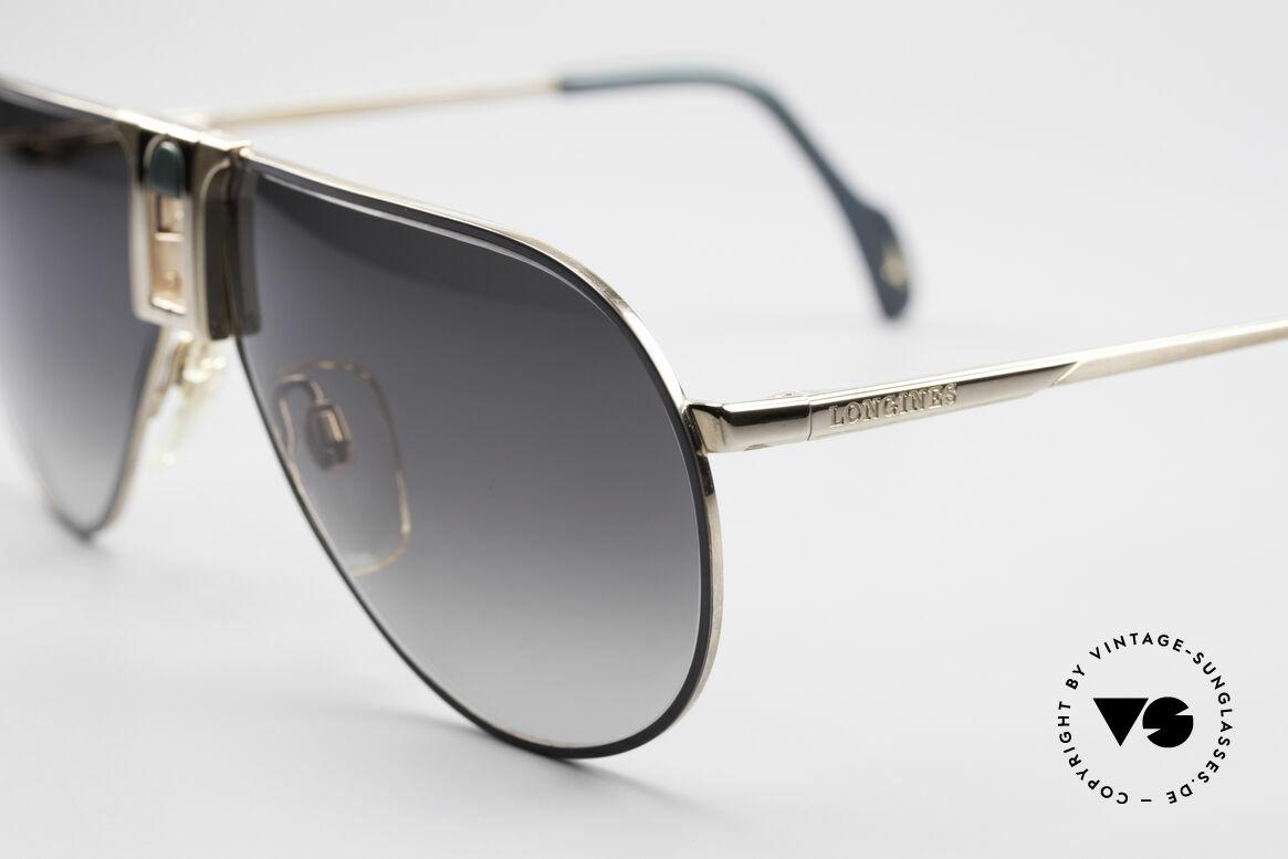 Longines 0154 1980's Aviator Sunglasses, luxury designer shades for gentlemen; pure lifestyle!, Made for Men