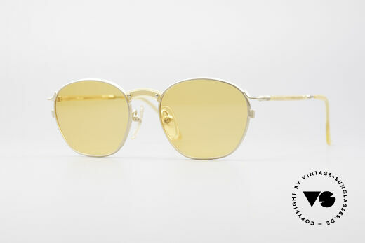 Jean Paul Gaultier 55-1271 Gold Plated Small Frame Details