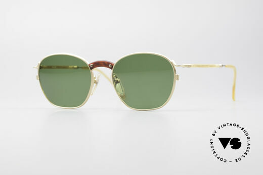 Jean Paul Gaultier 55-1271 Gold Plated JPG Sunglasses Details