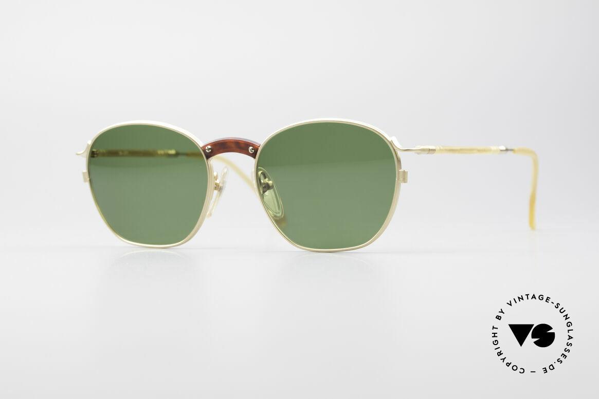 Jean Paul Gaultier 55-1271 Gold Plated JPG Sunglasses
