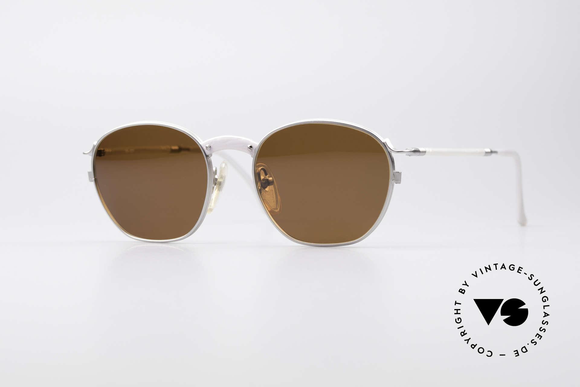 Jean Paul Gaultier 55-1271 JPG Vintage Sunglasses, vintage designer sunglasses by Jean Paul GAULTIER, Made for Men and Women