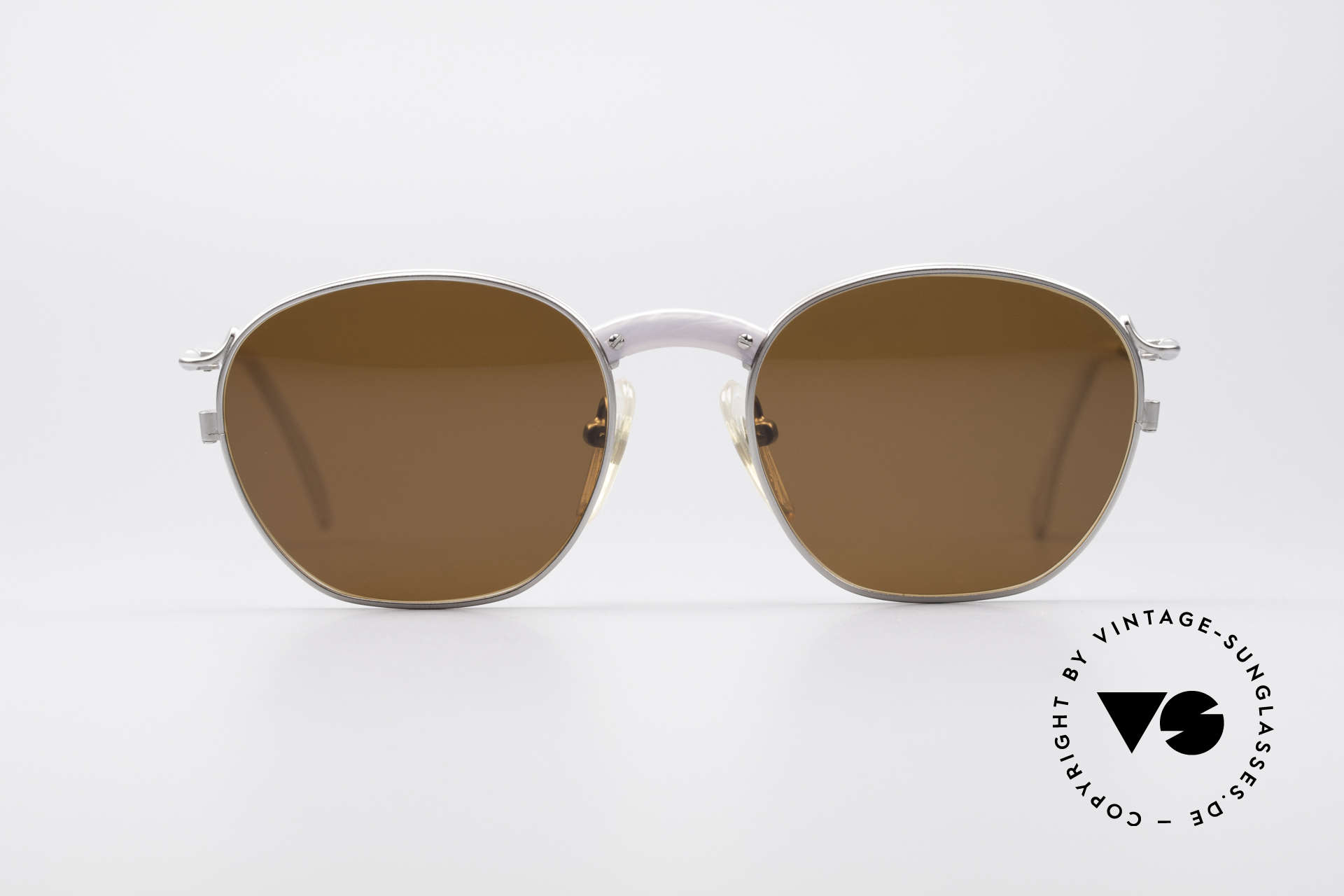 Jean Paul Gaultier 55-1271 JPG Vintage Sunglasses, lightweight (titan) frame and very pleasant to wear, Made for Men and Women