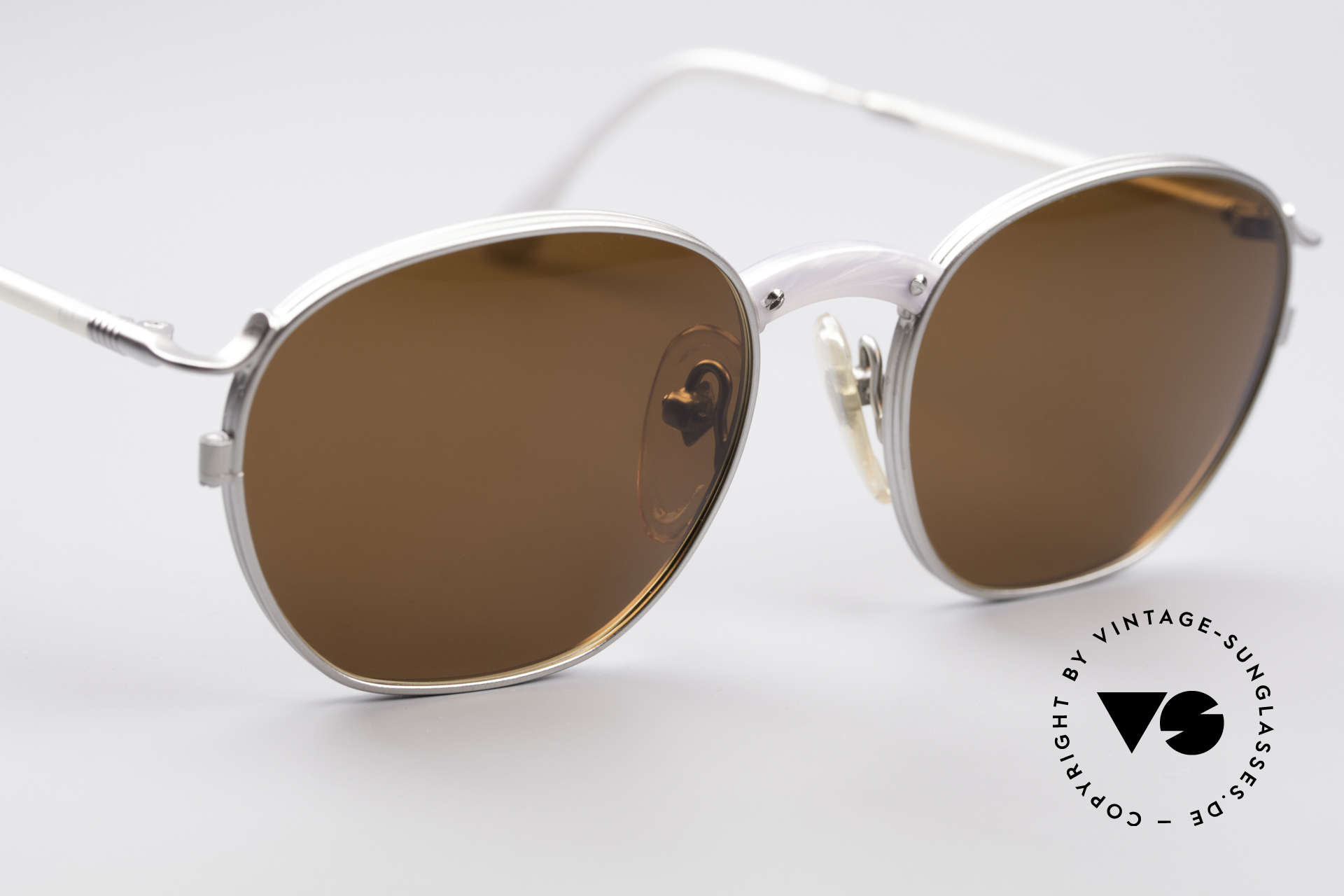 Jean Paul Gaultier 55-1271 JPG Vintage Sunglasses, unused (like all our Haute Couture J.P.G. sunglasses), Made for Men and Women