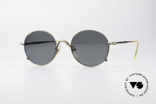 Jean Paul Gaultier 55-1176 Round Polarized Shades Details