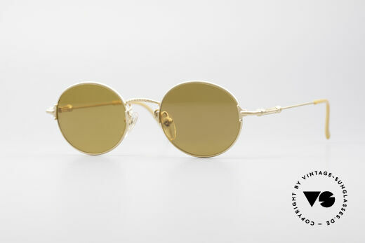 Jean Paul Gaultier 55-6109 Gold Plated Polarized Shades Details