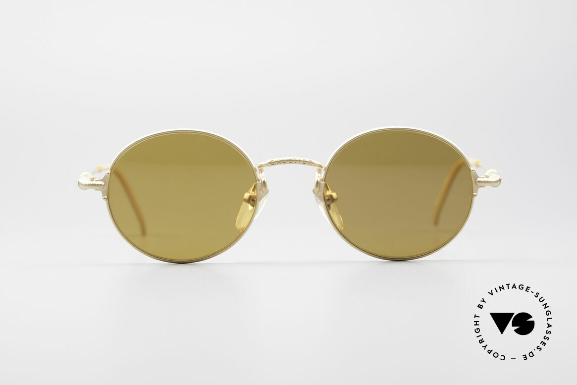 Jean Paul Gaultier 55-6109 Gold Plated Polarized Shades