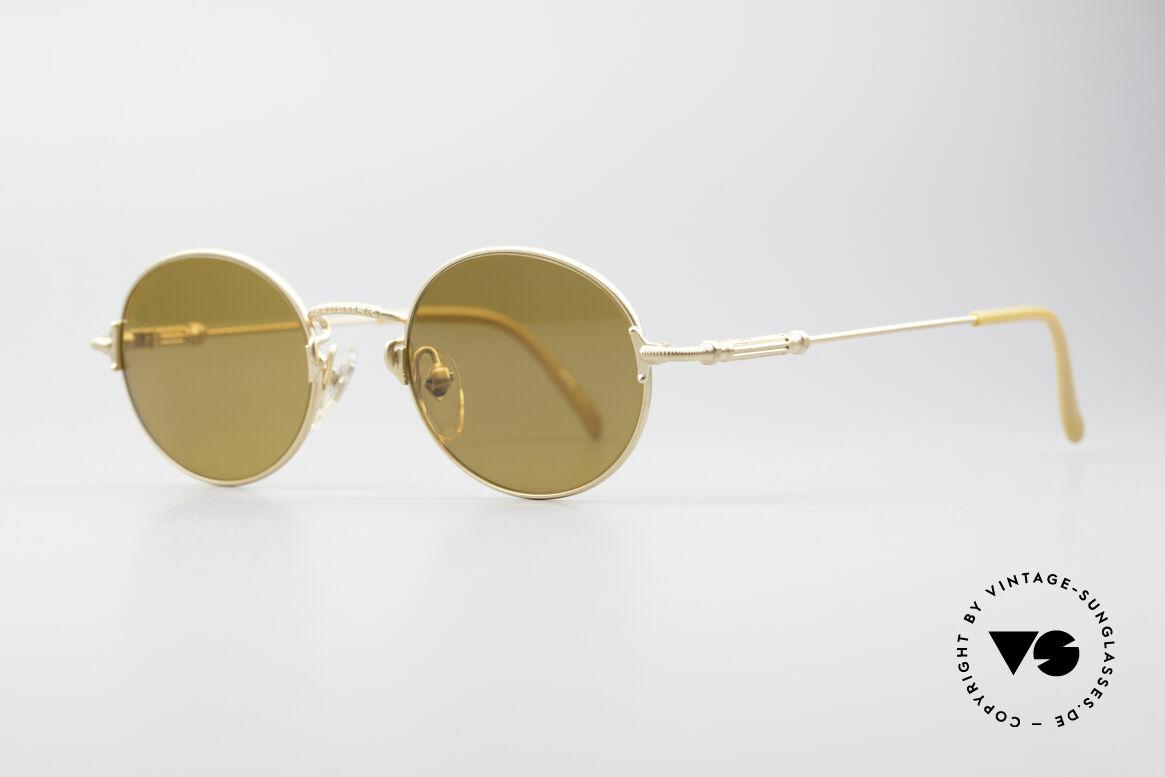 Jean Paul Gaultier 55-6109 Gold Plated Polarized Shades