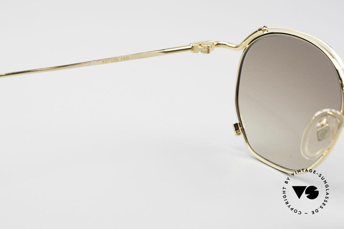 Jean Paul Gaultier 55-2171 Gold Plated Designer Frame