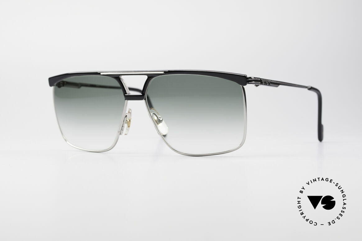 Ferrari F35 Men's Vintage 80's Shades, very masculine vintage designer sunglasses by Ferrari, Made for Men