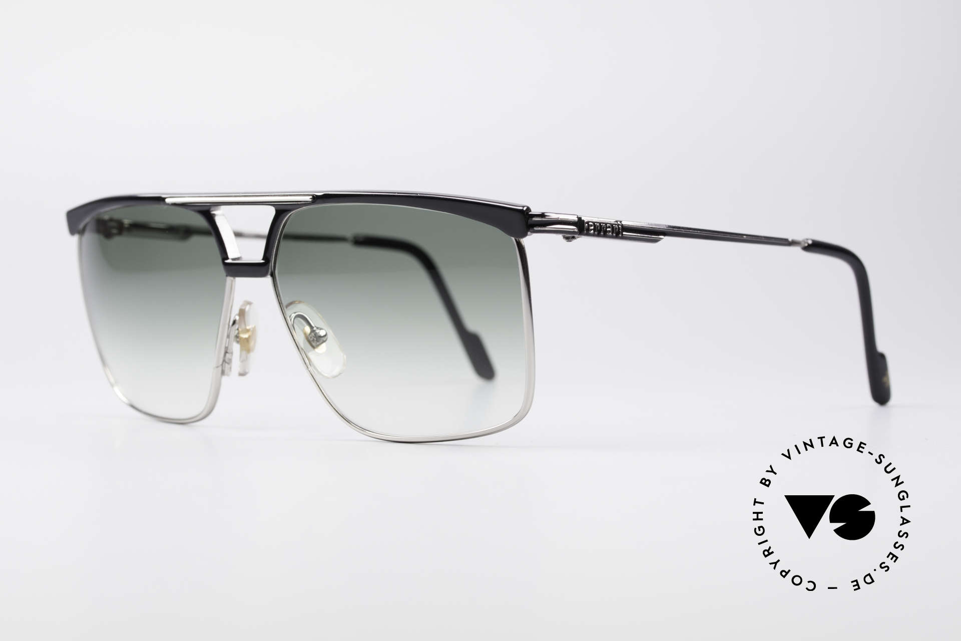 Ferrari F35 Men's Vintage 80's Shades, high-end Alutanium frame with flexible spring hinges, Made for Men