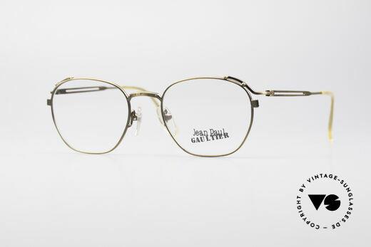 Jean Paul Gaultier 55-3173 90's Designer Eyeglasses Details