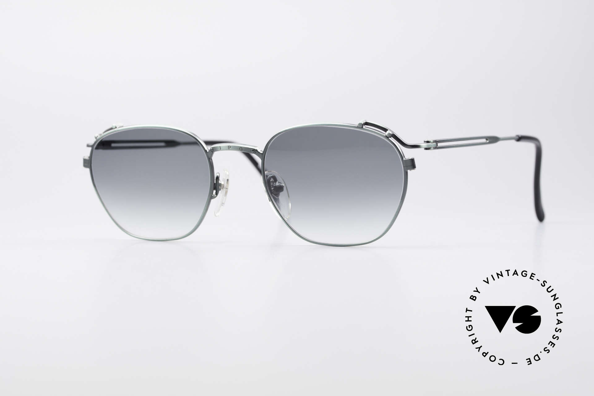 Jean Paul Gaultier 55-3173 90's Designer Sunglasses, timeless vintage shades by Jean Paul GAULTIER, Made for Men and Women