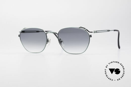 Jean Paul Gaultier 55-3173 90's Designer Sunglasses Details