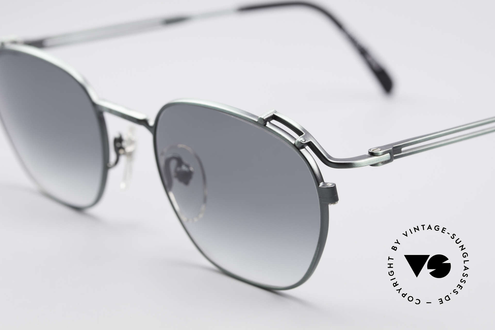 Jean Paul Gaultier 55-3173 90's Designer Sunglasses, top-notch 1990's craftsmanship, made in Japan, Made for Men and Women
