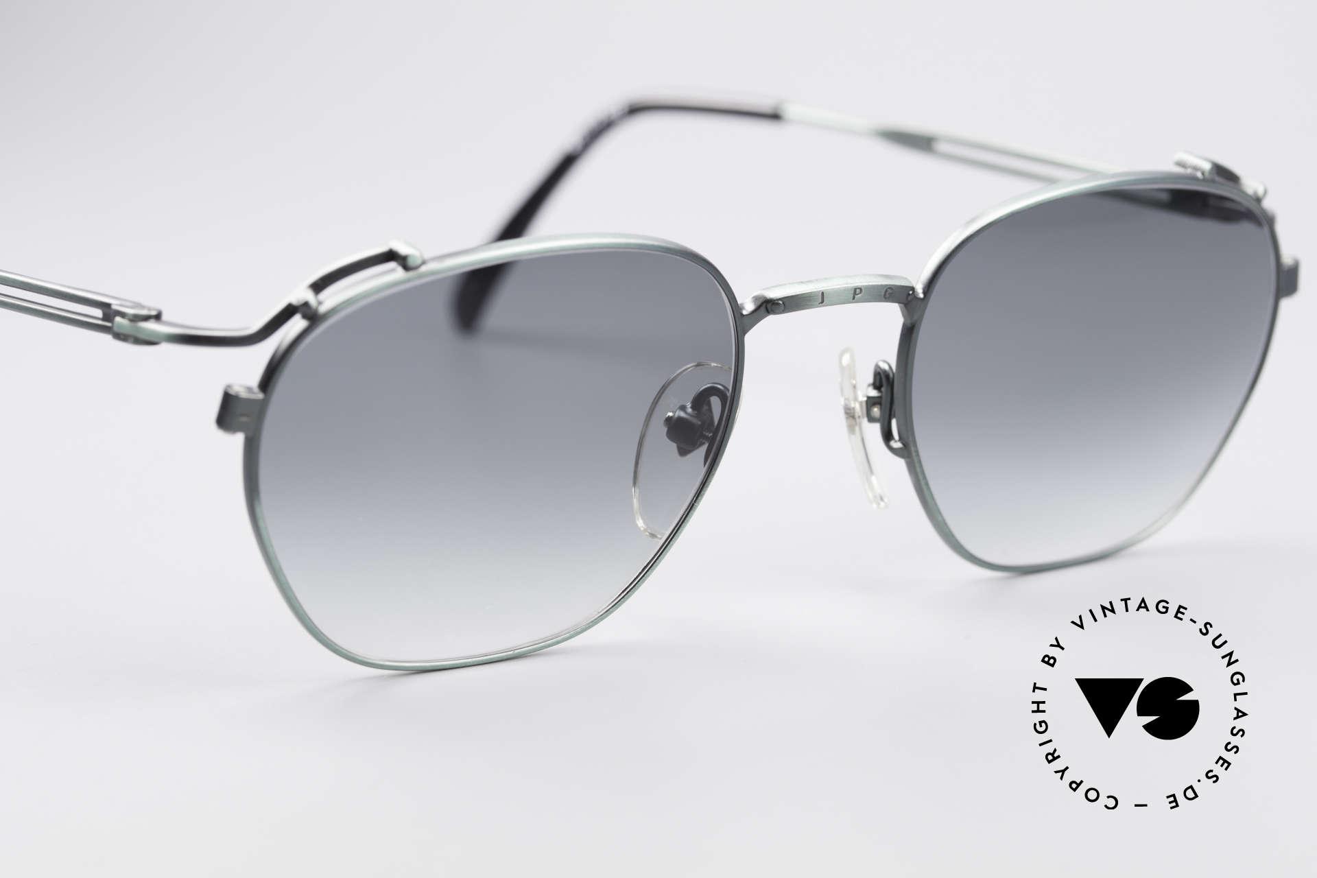 Jean Paul Gaultier 55-3173 90's Designer Sunglasses, unworn (like all our old 90s designer sunglasses), Made for Men and Women