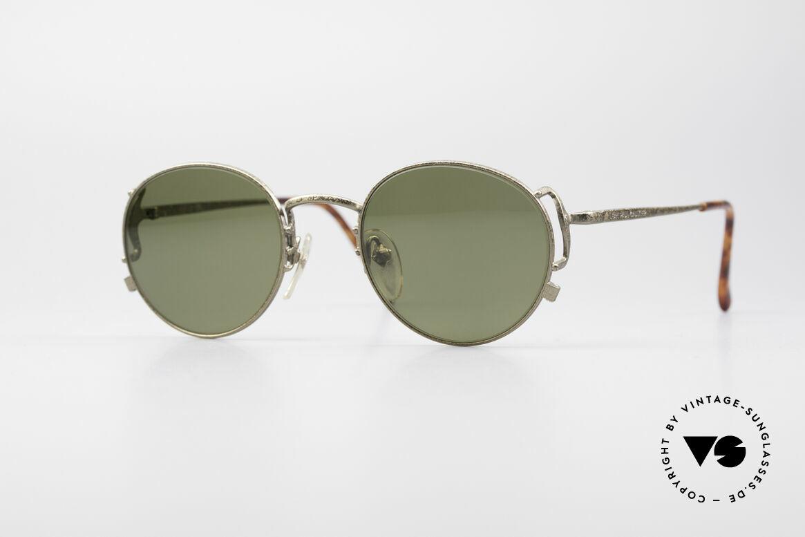 Jean Paul Gaultier 55-3178 Polarized Sun Lenses, noble Jean Paul GAULTIER 90's designer shades, Made for Men and Women