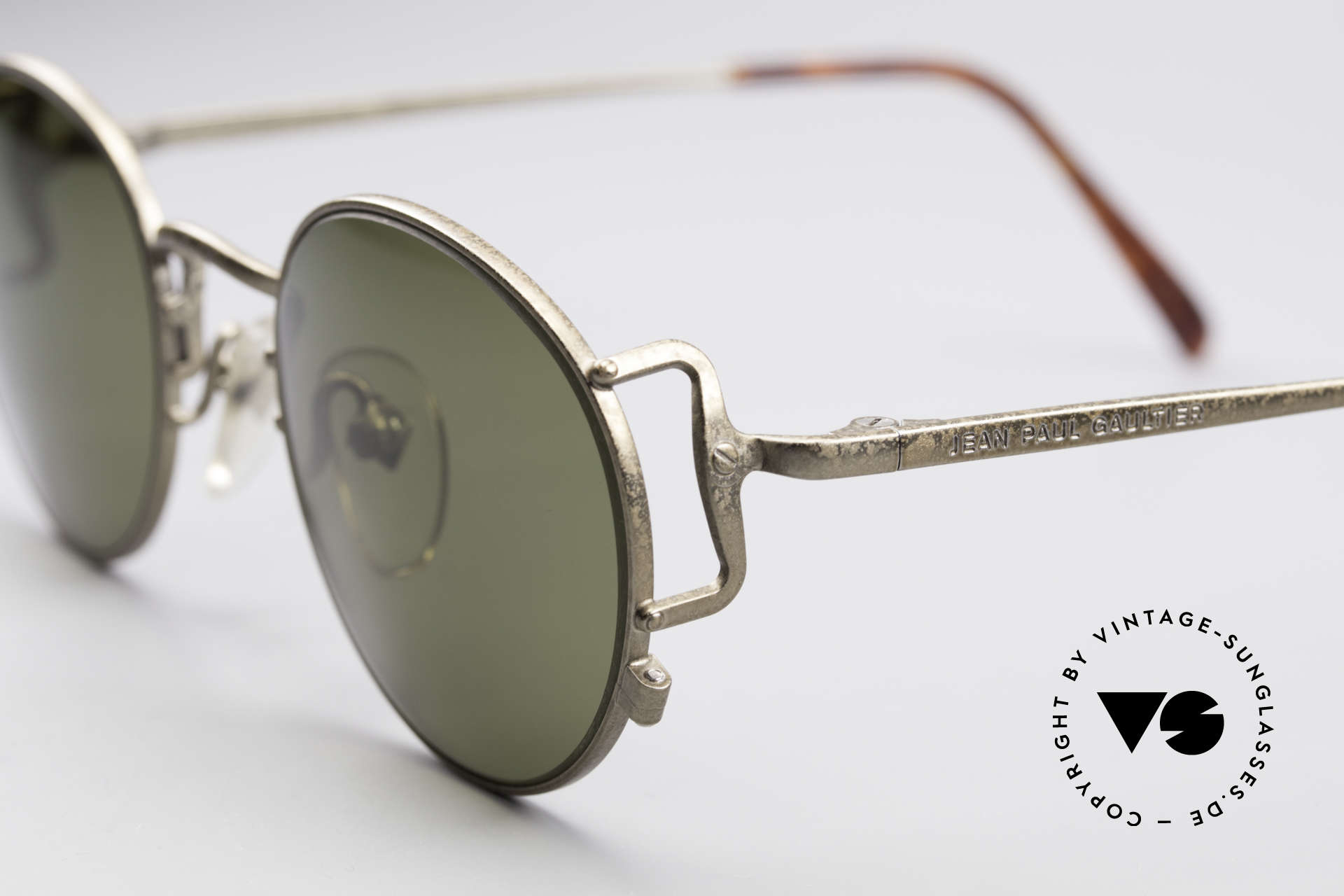 Jean Paul Gaultier 55-3178 Polarized Sun Lenses, unworn (like all our old 1990's designer glasses), Made for Men and Women