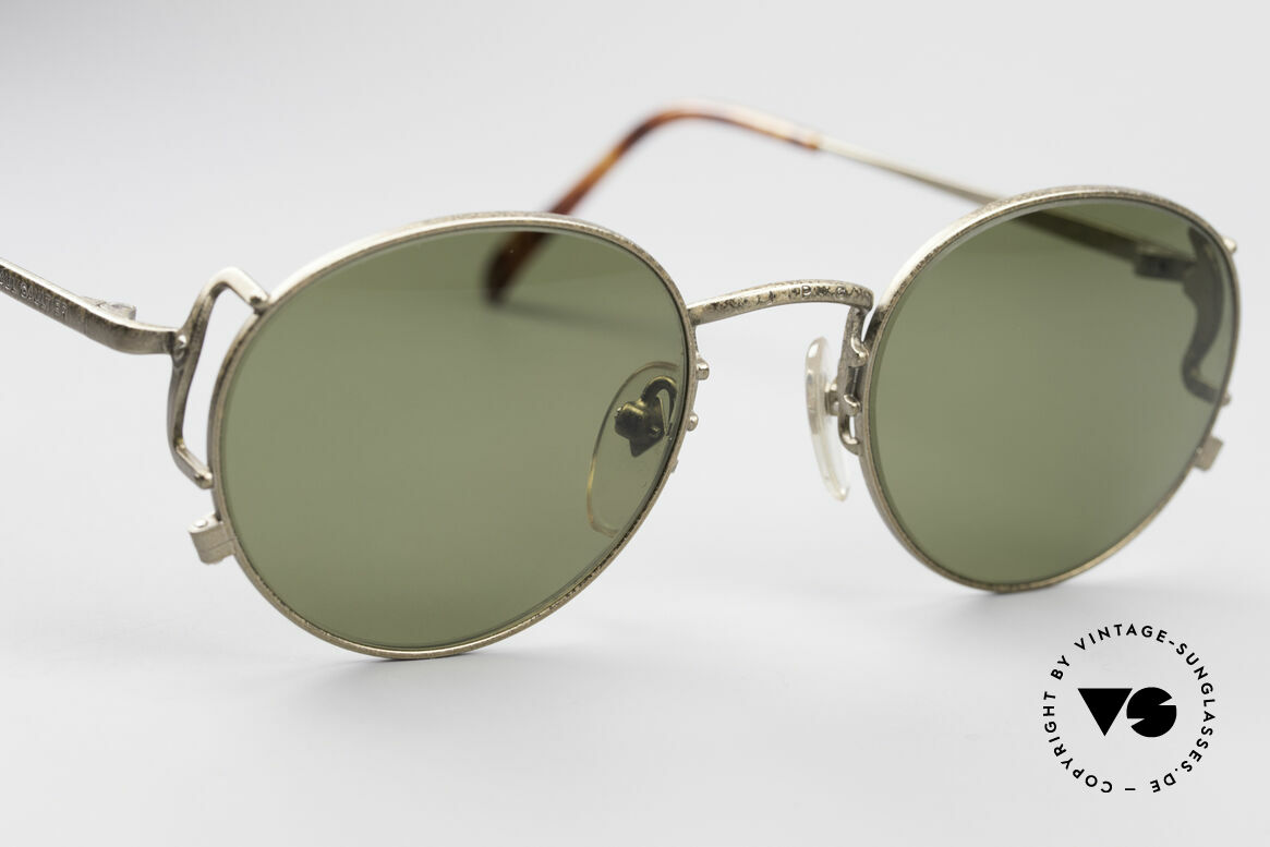 Jean Paul Gaultier 55-3178 Polarized Sun Lenses, NO retro sunglasses, but a 25 years old original, Made for Men and Women