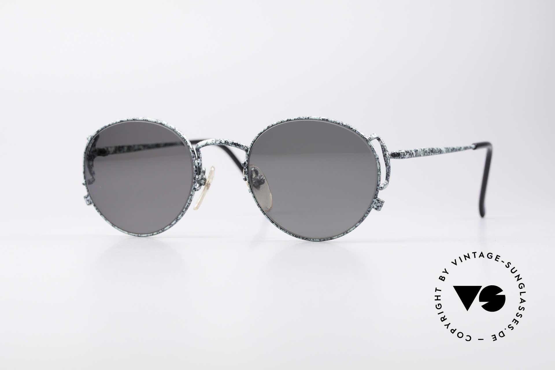 Jean Paul Gaultier 55-3178 Polarized JPG Sunglasses, noble Jean Paul GAULTIER 90's designer shades, Made for Men and Women