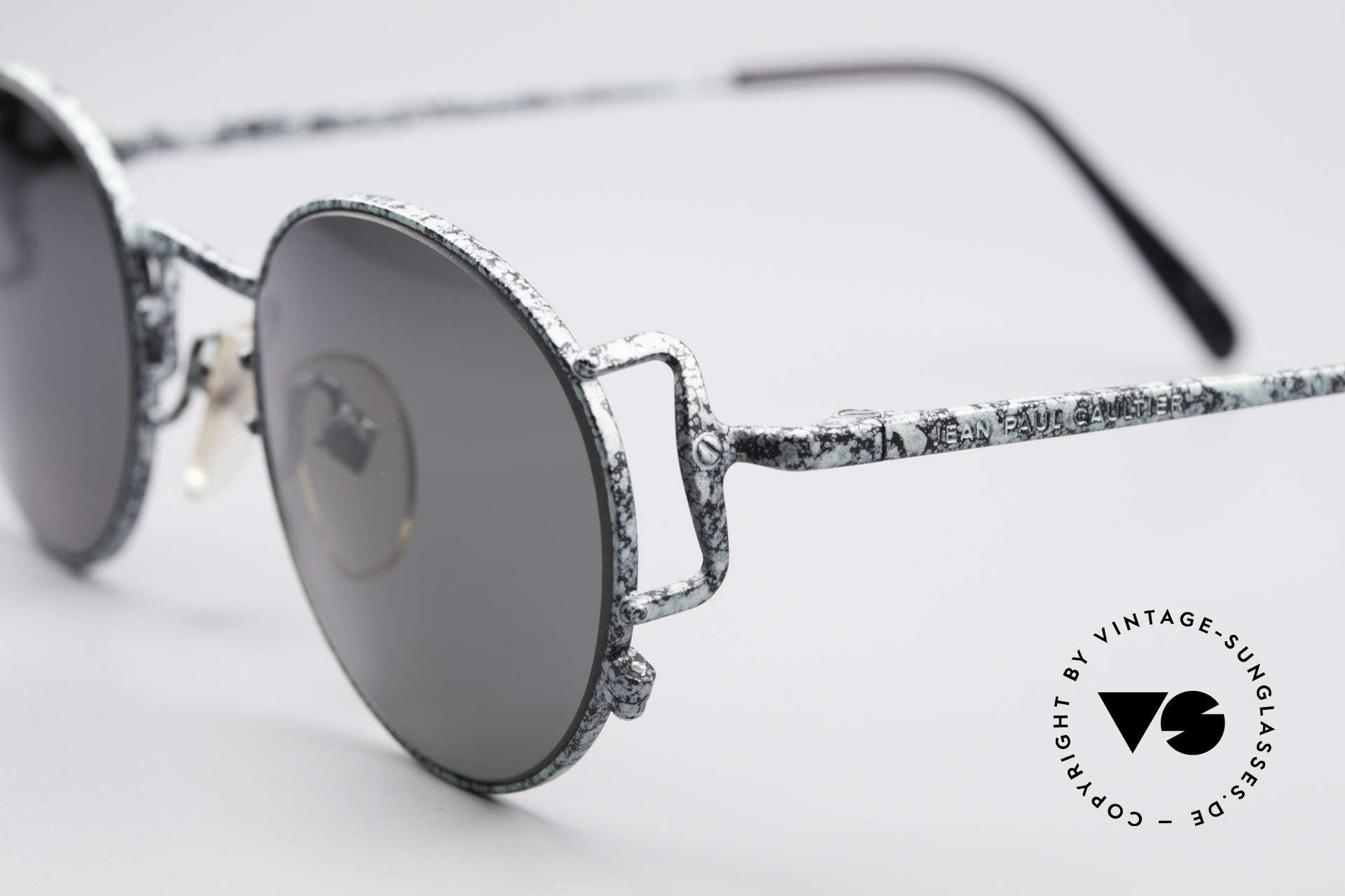Jean Paul Gaultier 55-3178 Polarized JPG Sunglasses, unworn (like all our old 1990's designer glasses), Made for Men and Women