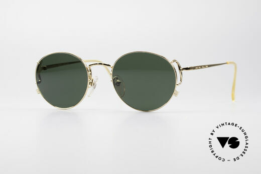 Jean Paul Gaultier 55-3178 Gold Plated JPG Sunglasses Details