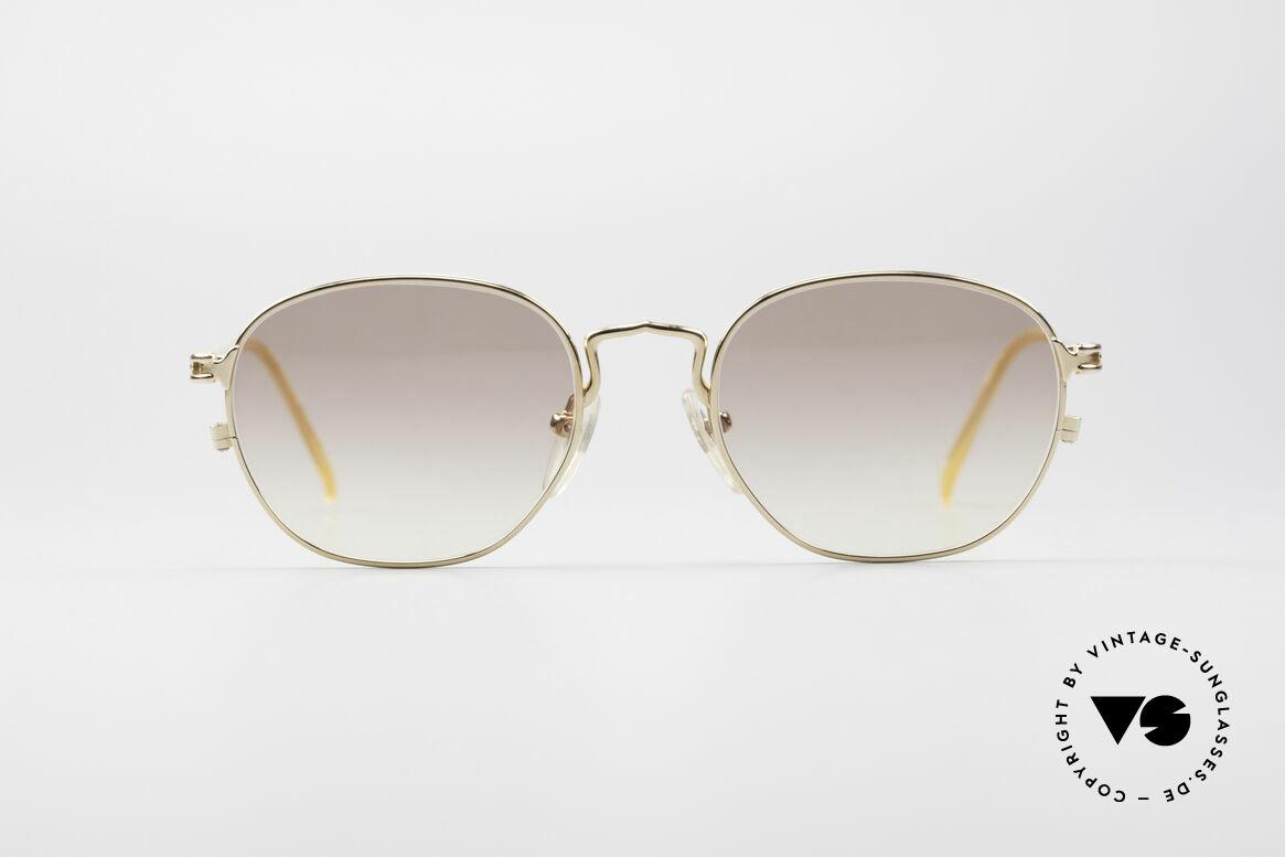 Jean Paul Gaultier 55-3182 Gold-Plated Titanium Frame
