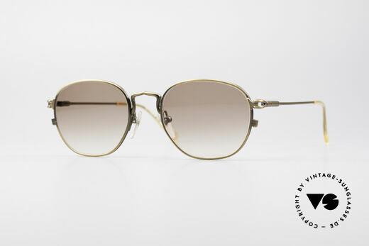 Jean Paul Gaultier 55-3182 90's Titanium Sunglasses Details