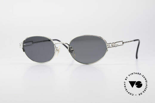 Jean Paul Gaultier 55-5108 Polarized Oval Sunglasses Details
