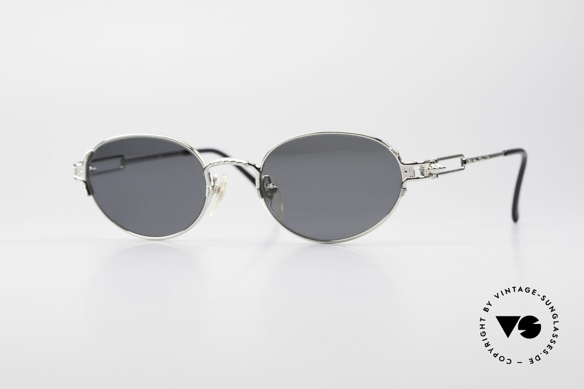Jean Paul Gaultier 55-5108 Polarized Oval Sunglasses, rare vintage sunglasses by Jean Paul GAULTIER, Made for Men and Women