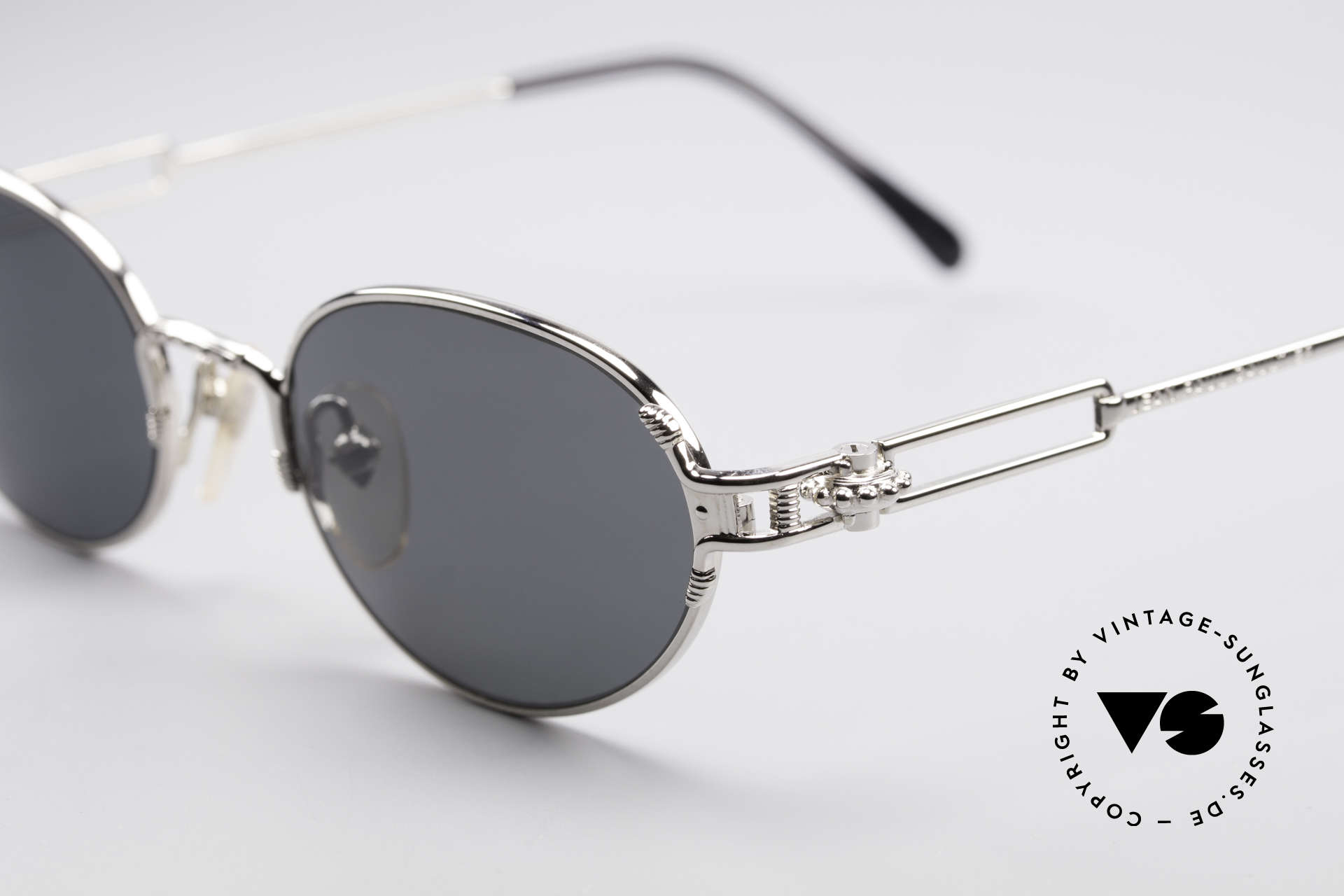 Jean Paul Gaultier 55-5108 Polarized Oval Sunglasses, NO RETRO shades, but a vintage 90's ORIGINAL, Made for Men and Women
